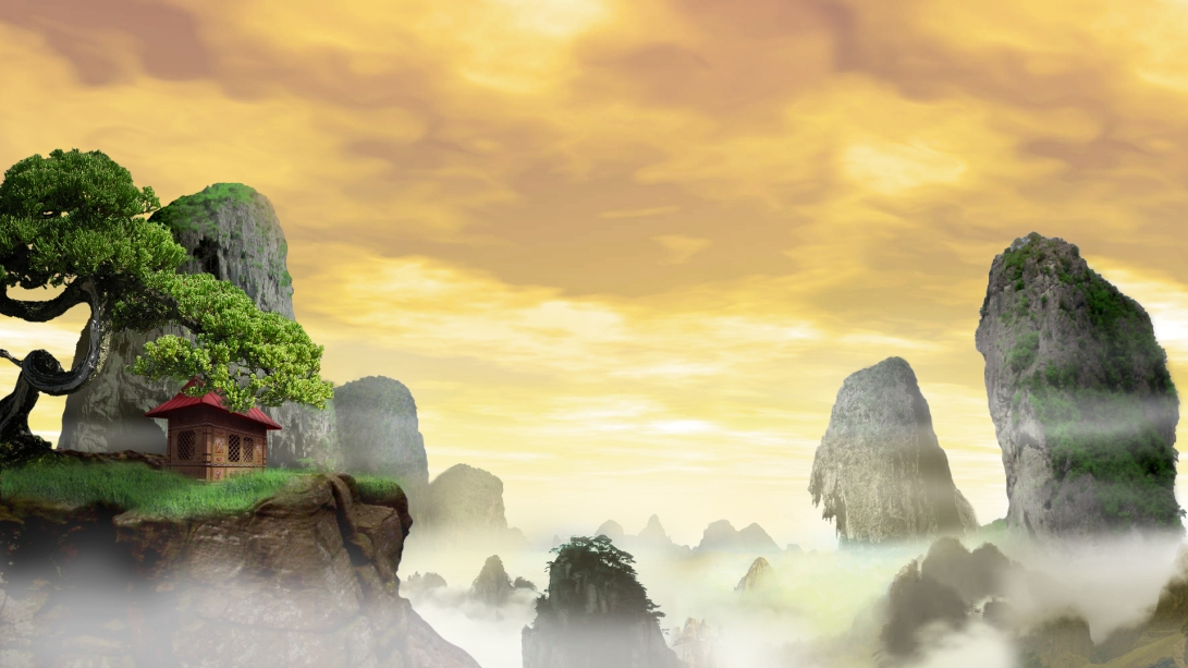 Matte Painting Inspired by Kung Fu Panda