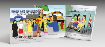 children's_book_First Day of School_2